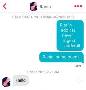 Name Tinder